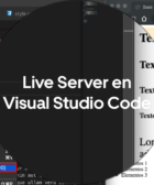 instalar live server en visual studio code