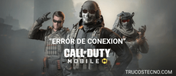 Error de Conexión en Call of Duty Mobile